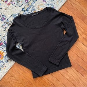Peruvian connection black long sleeve